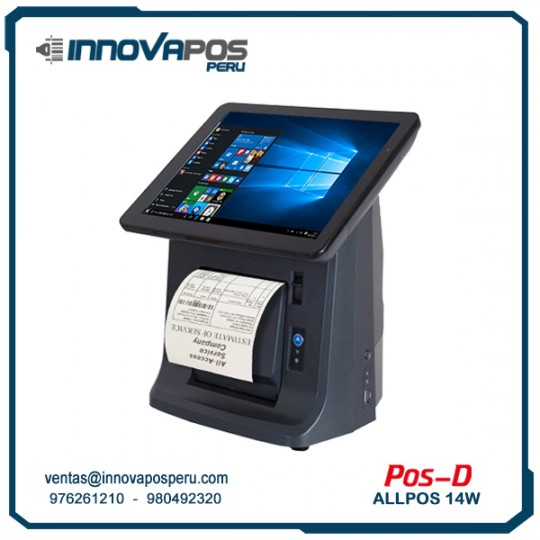 ALL IN ONE POS-D ALLPOS 14W
